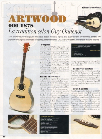 guitare artwood guitars 000187s